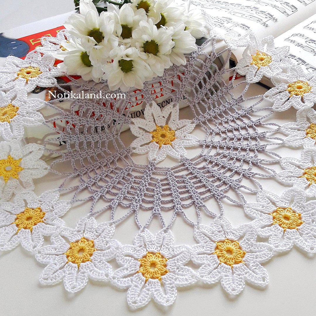 Crochet Doily easy