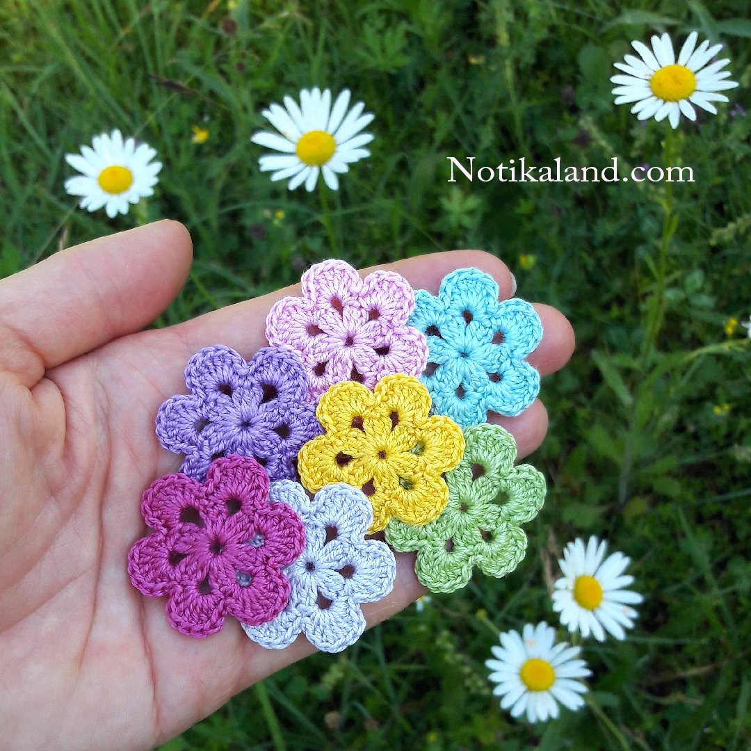 DIY Tutorial EASY Crochet Flower