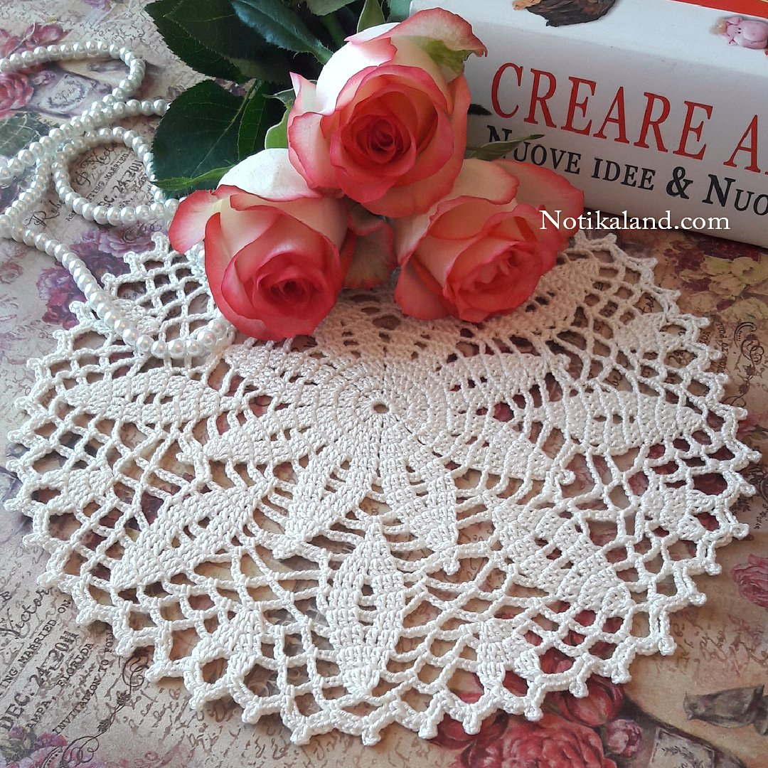 Crochet Doily Diagram free