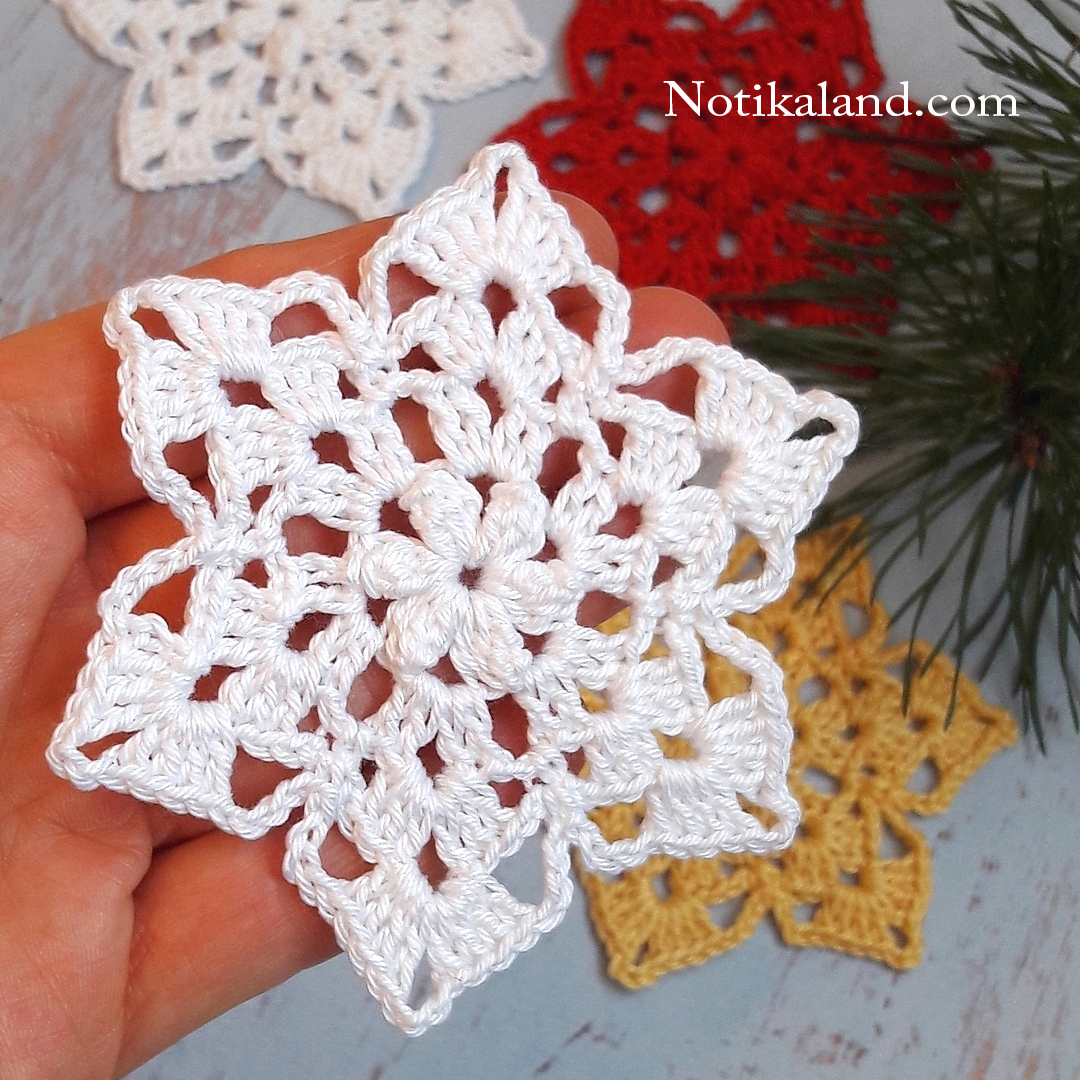Crochet Flower step by step
