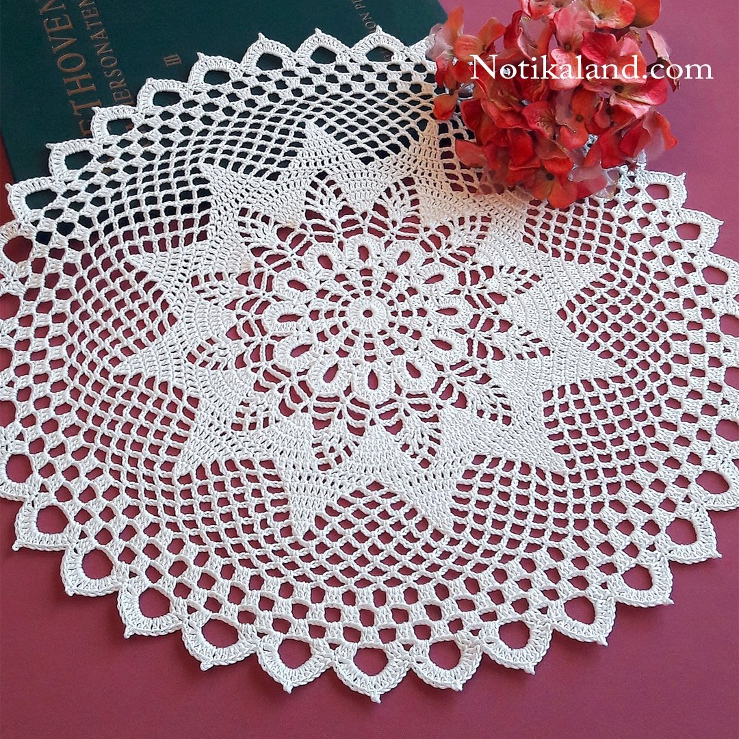 How to crochet doily EASY Tutorial