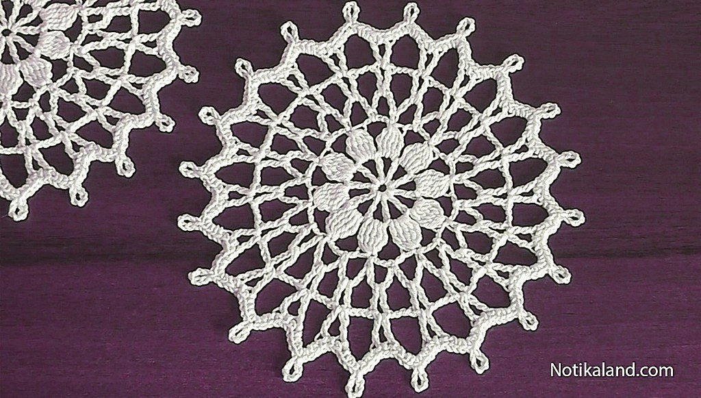 crochet doily tutorial for beginners