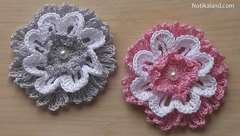 Diy crochet  VERY EASY FLOWER