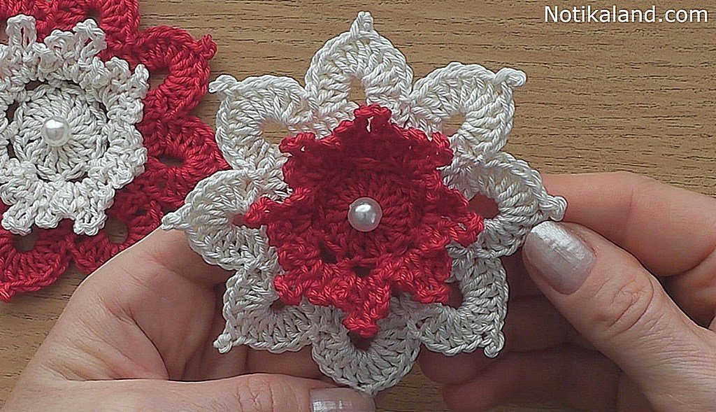 DIY. Lovely flower. Video tutorial.