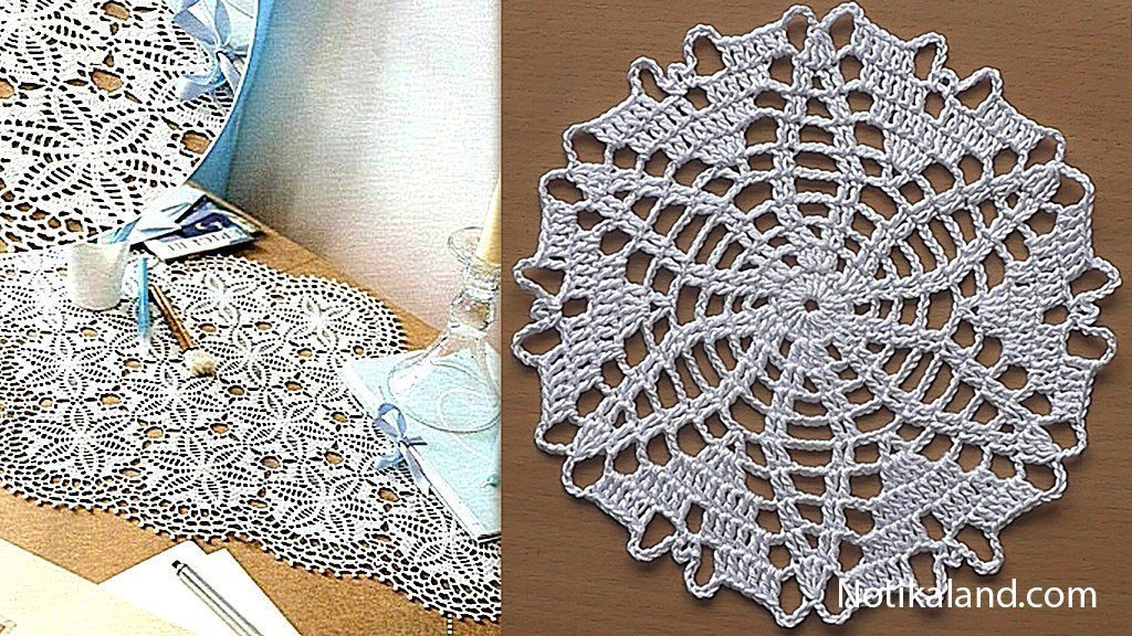 Crochet.Doily.Tablecloth.Pattern.