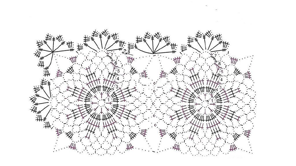 Crochet.Doily.Tablecloth.Easy tutorial. 1