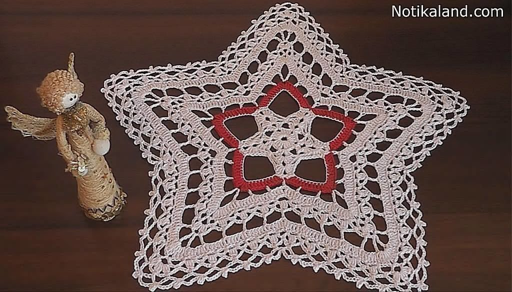 Crochet Doily STAR