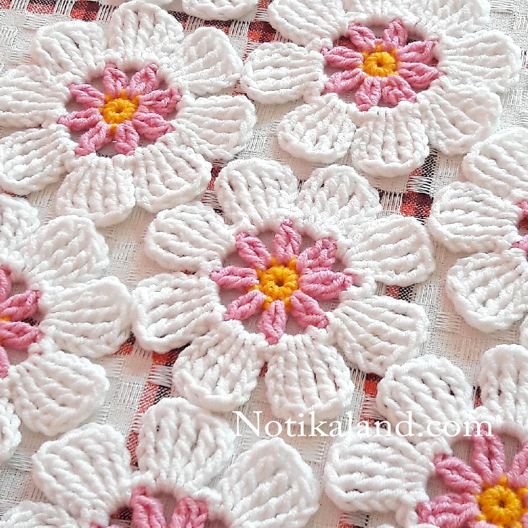 Crochet. Flower. Tutorial EASY.